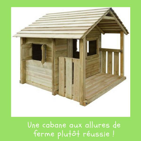 Une cabane aux allures de ferme