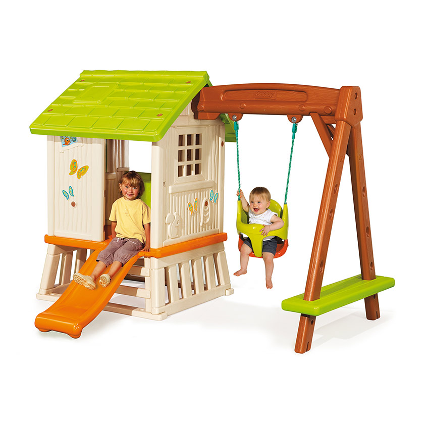 cabane portique en plastique de Smoby