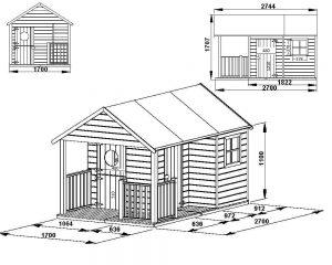 maison en bois Inès fiche technique