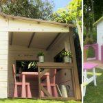 mini-maison en bois Gaby